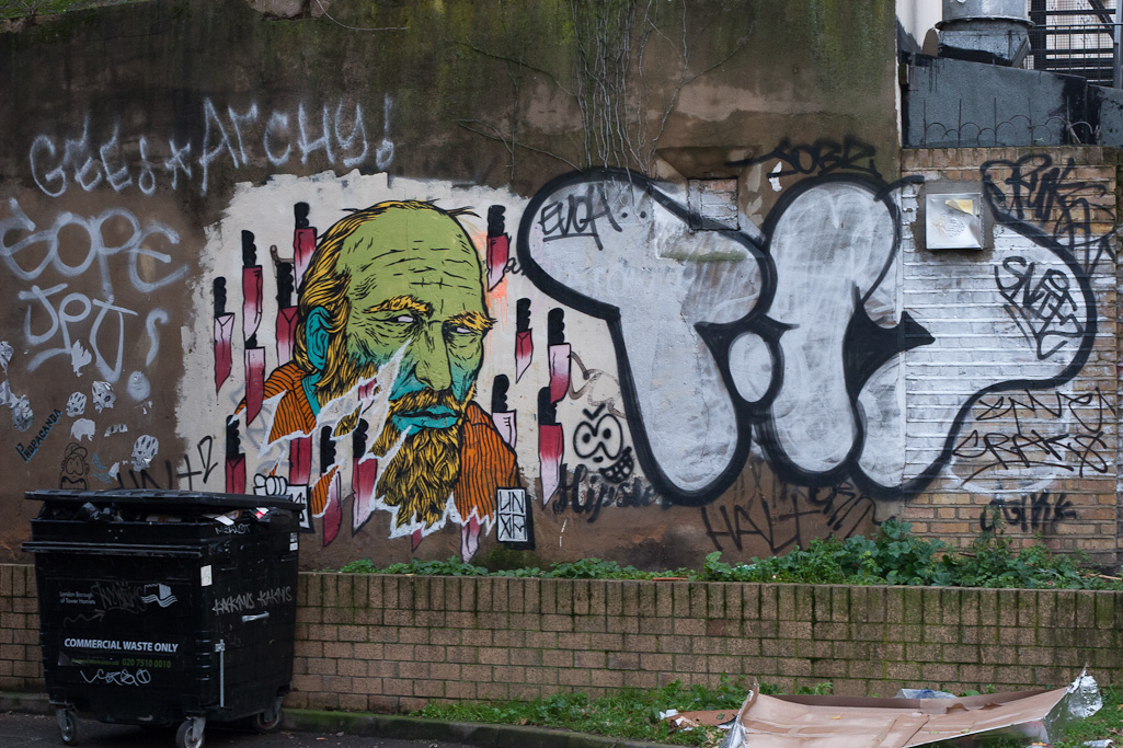 Brick Lane and Street Art