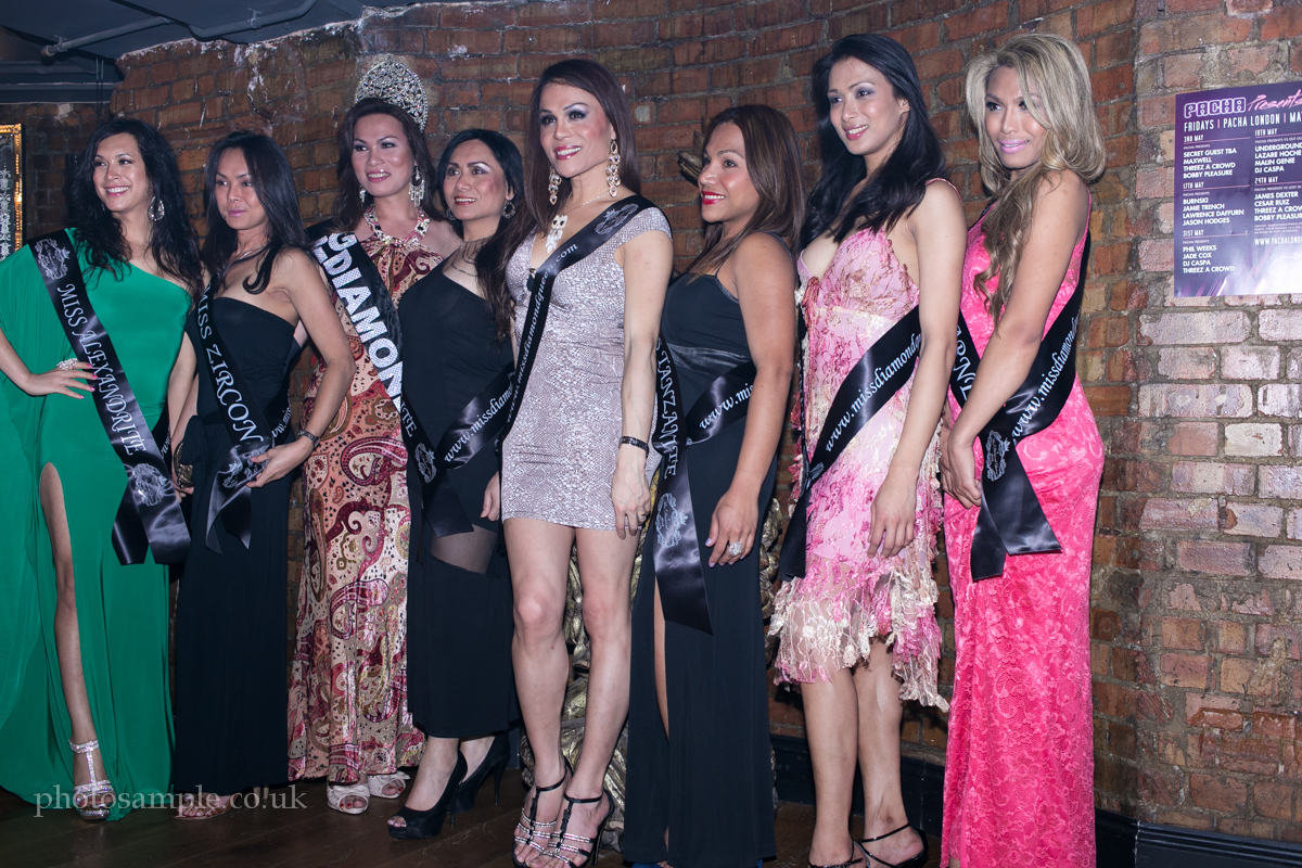 Miss Diamond Queen 2013 London