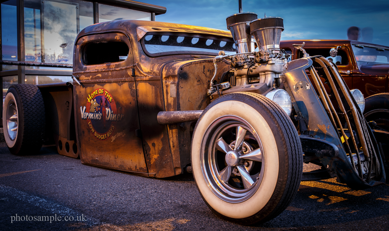 Rat Rod at Ace Cafe London
