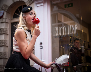 Eva Redapple at RUCO LINE, London, 12.10.2013