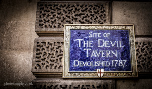 The Devil Tavern - Fleet Street, London, UK