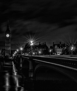 Westminster Bridge and Big Ben, London, UK, 2013
