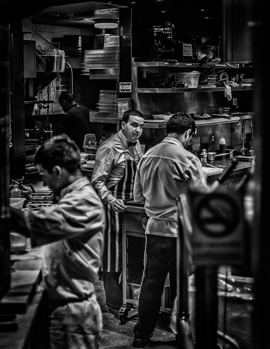 Kitchen, restaurant, Mayfair, London 03.2014