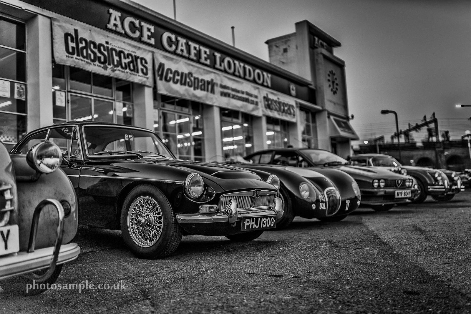 Ace Cafe London Classic Car Night