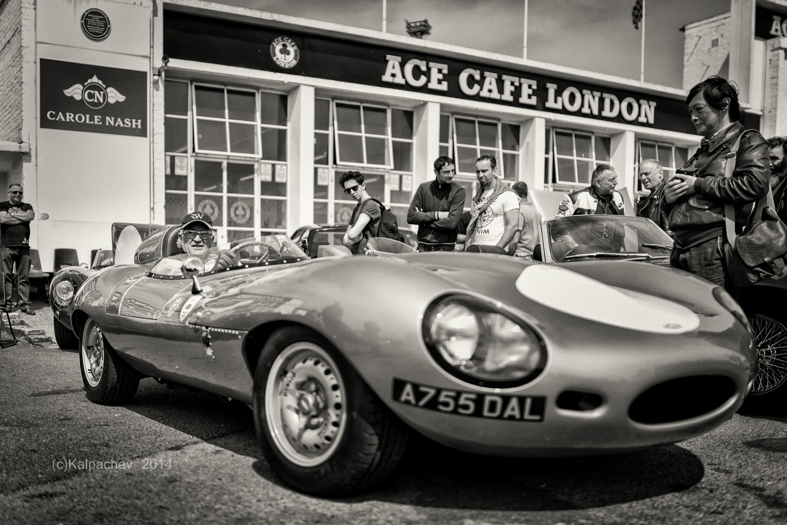 Ace Cafe London Jaguar Special Meet