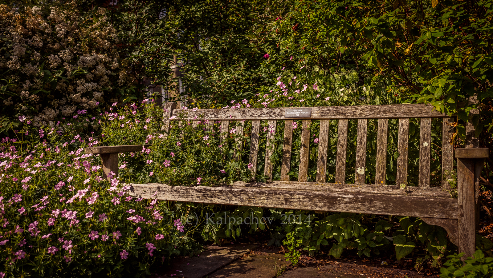 Gray's Inn gardens. London 2014