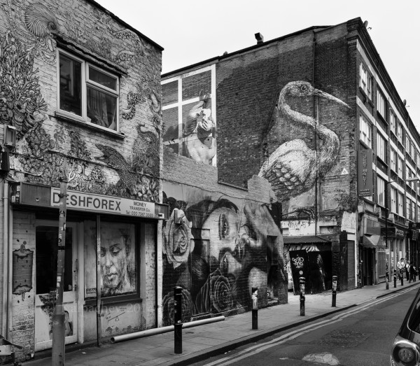 Brick Lane London – July 2014 Part 1