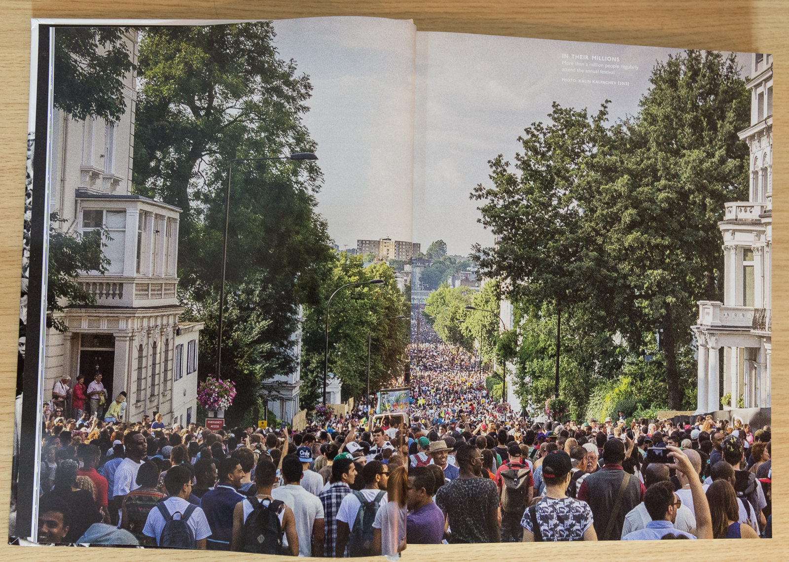 My photo in Notting Hill Carnival Book