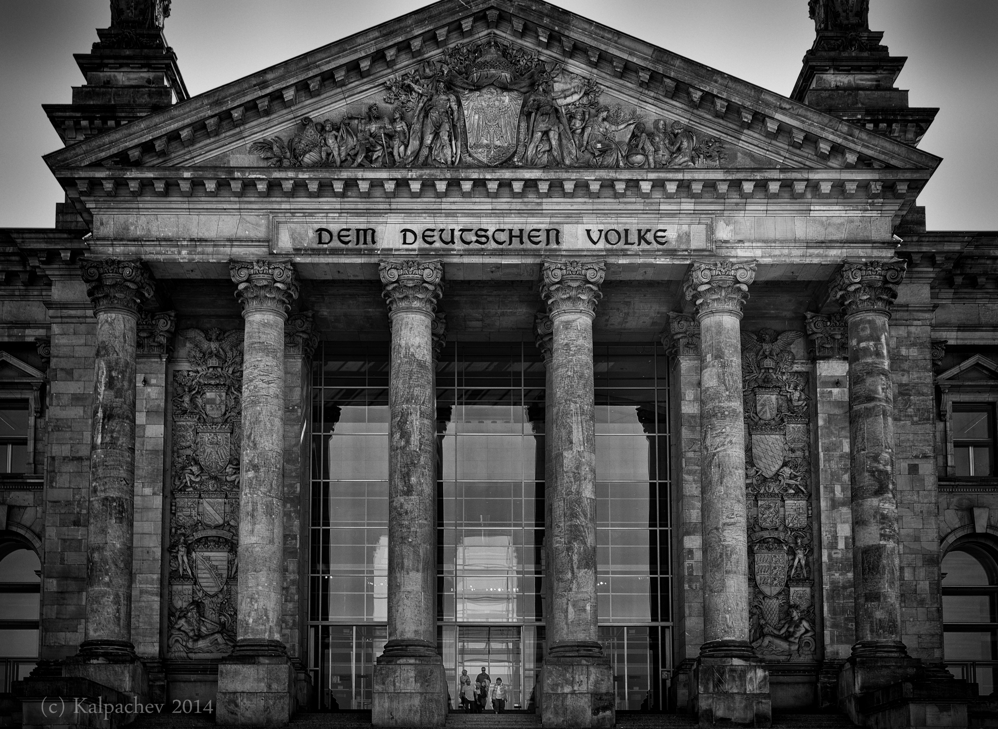 The Reichstag, Berlin, Germany  Photo taken by my on my motorcycle tour around Europe, September 2014
