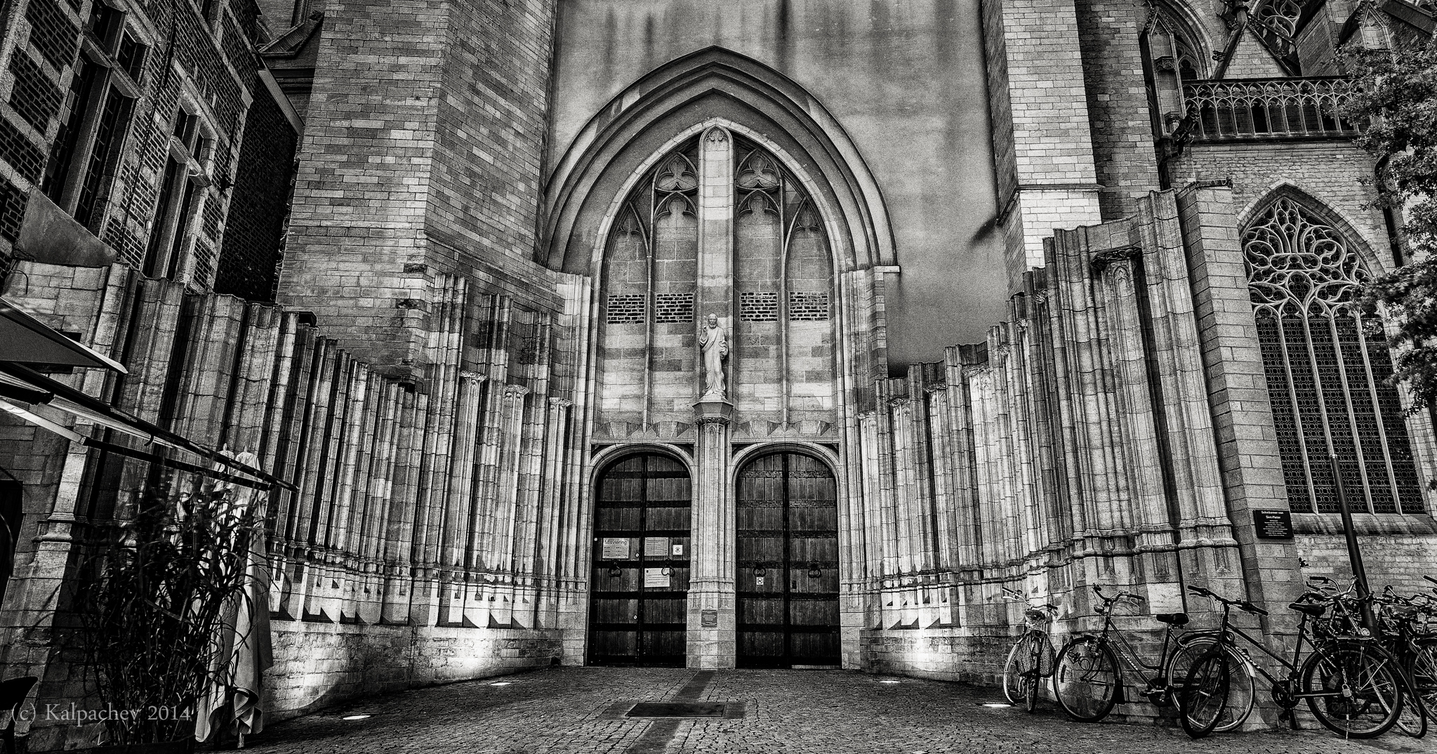 The St. Peter's Church, Leuven, Belgium