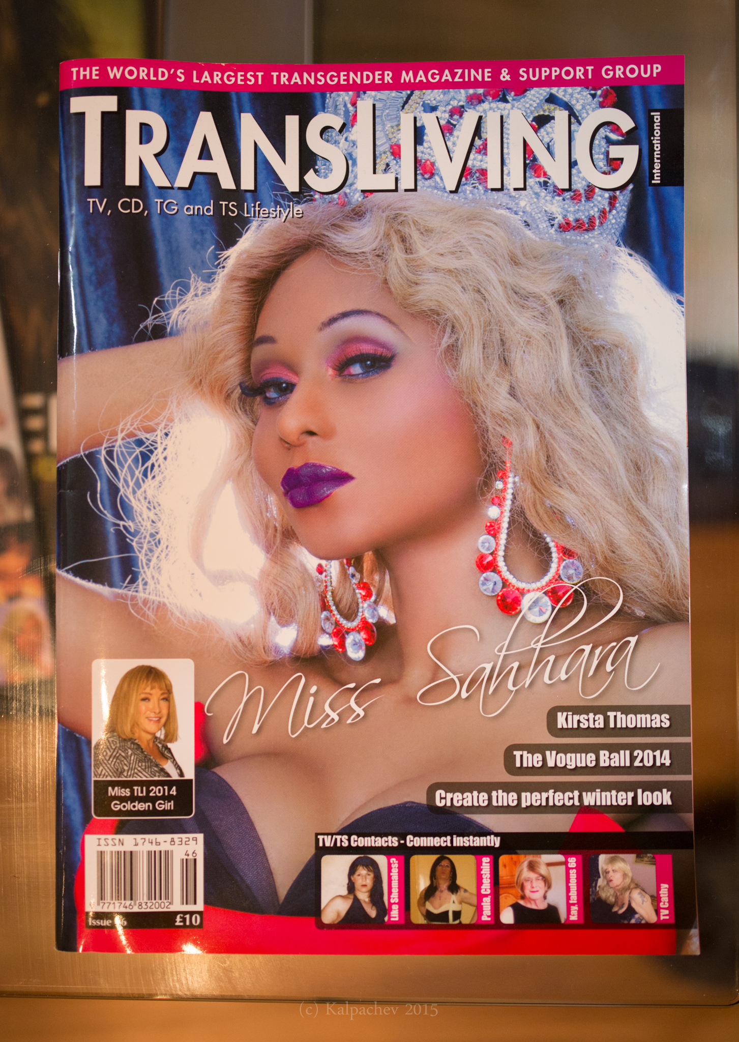 Transliving magazine London