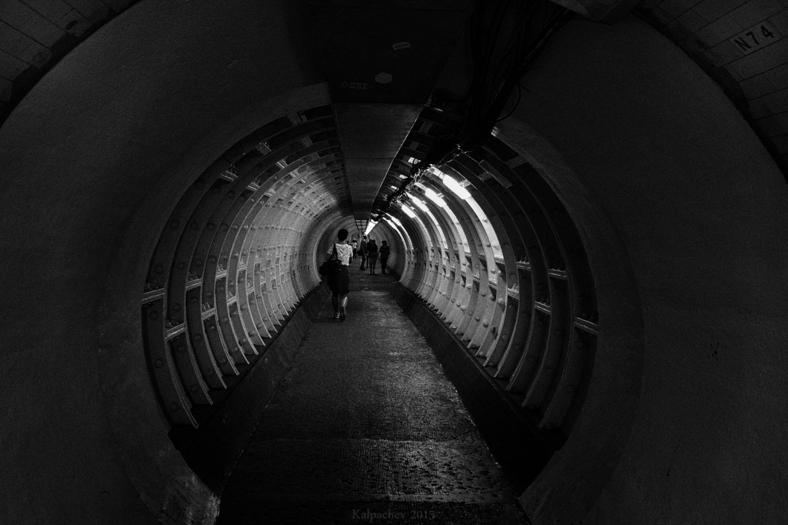 N74 Greenwich foot tunnel