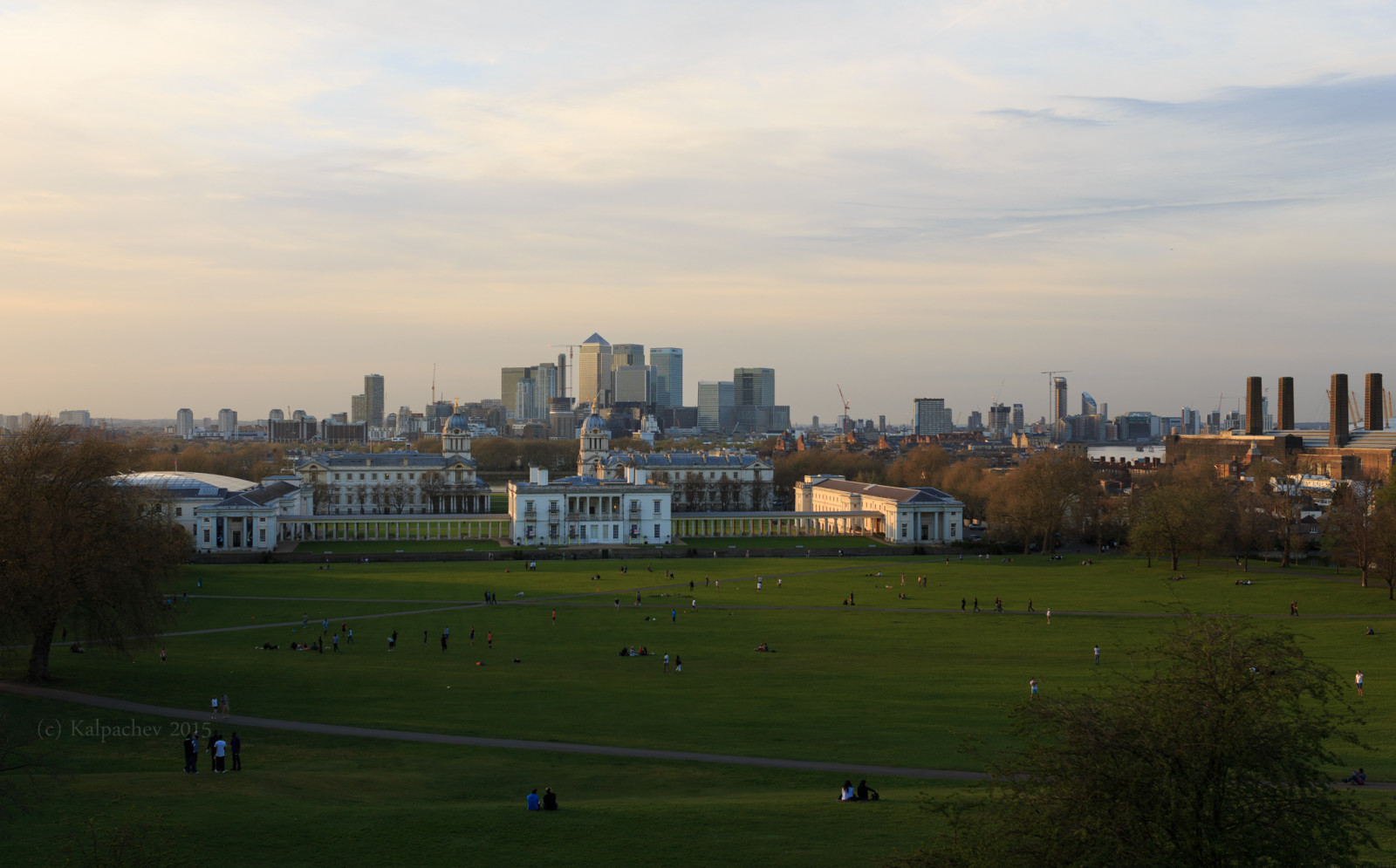 View from Greenwich London