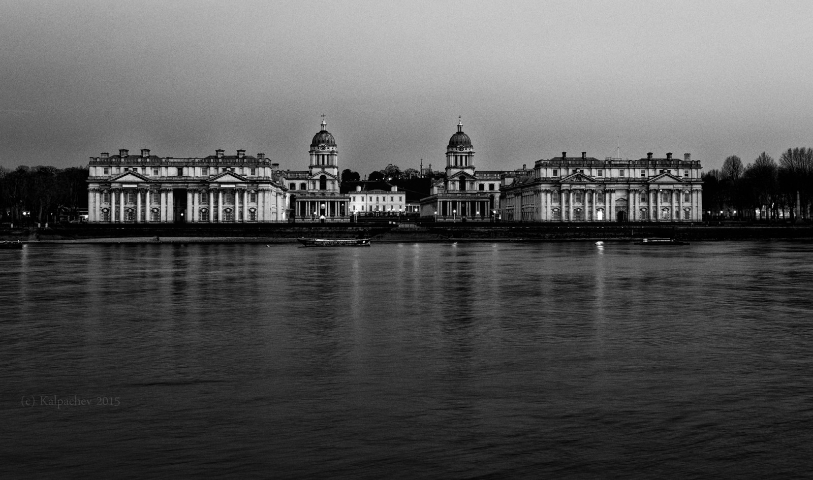 Old naval college Greenwich London