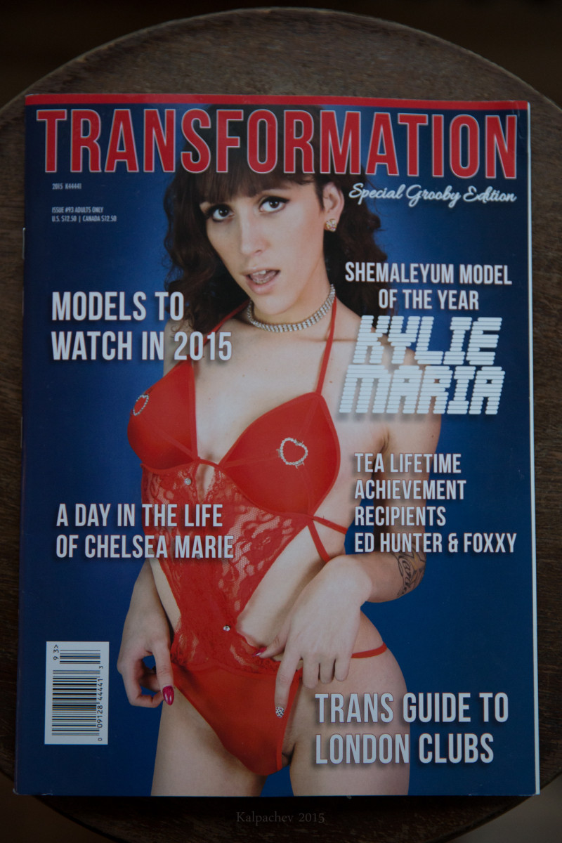 My photos in TRANSFORMATION magazine USA