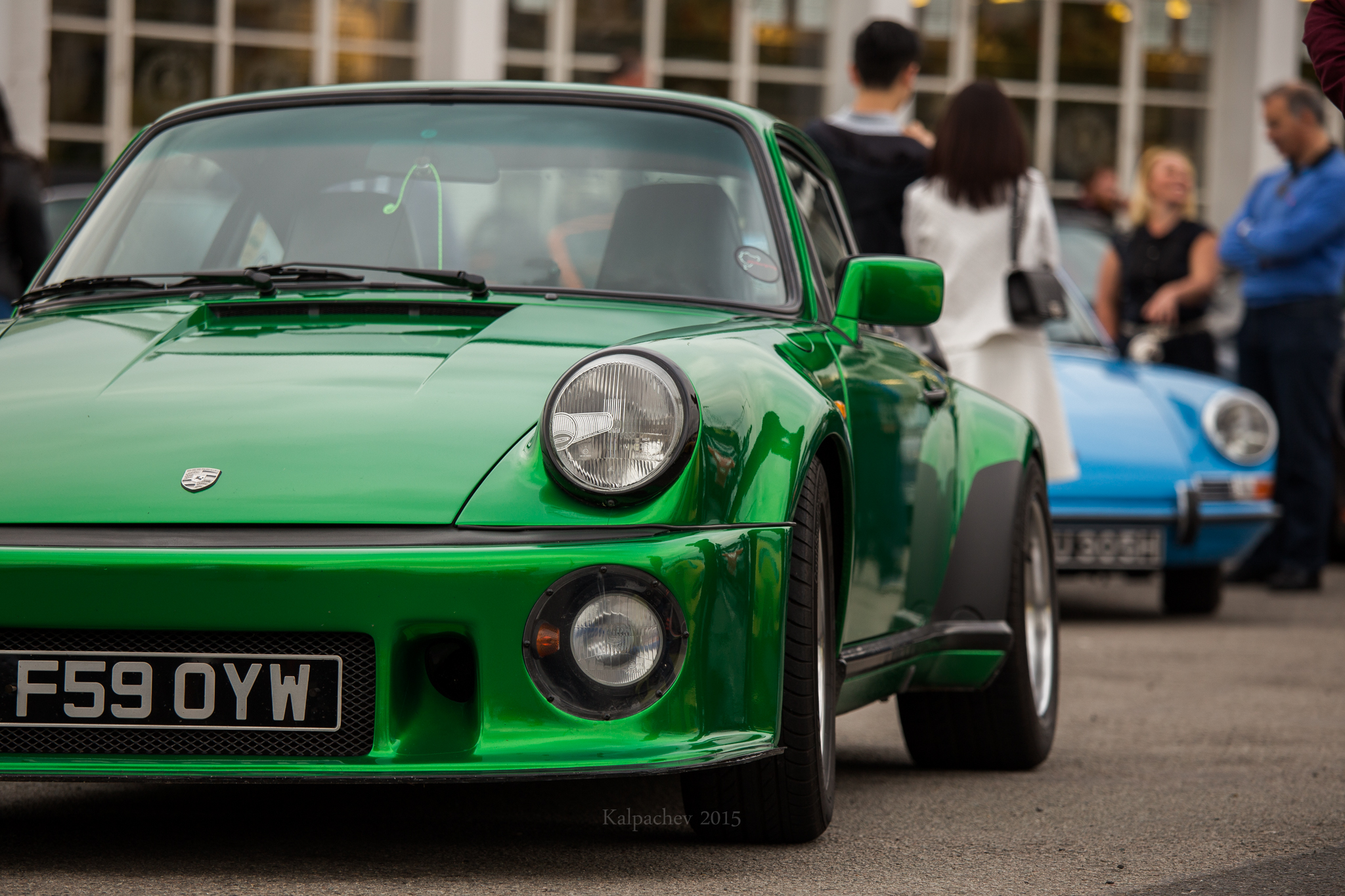 Porsche meet @ Ace Cafe London
