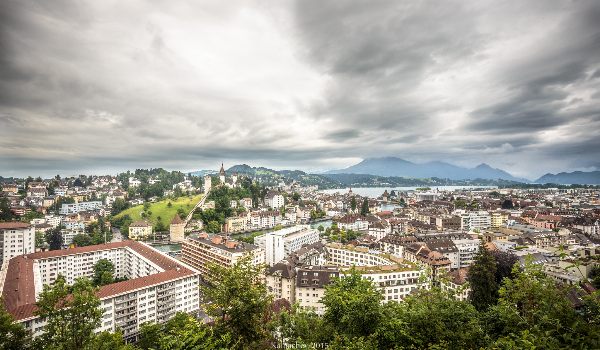 Lucerne Switzerland June 2015