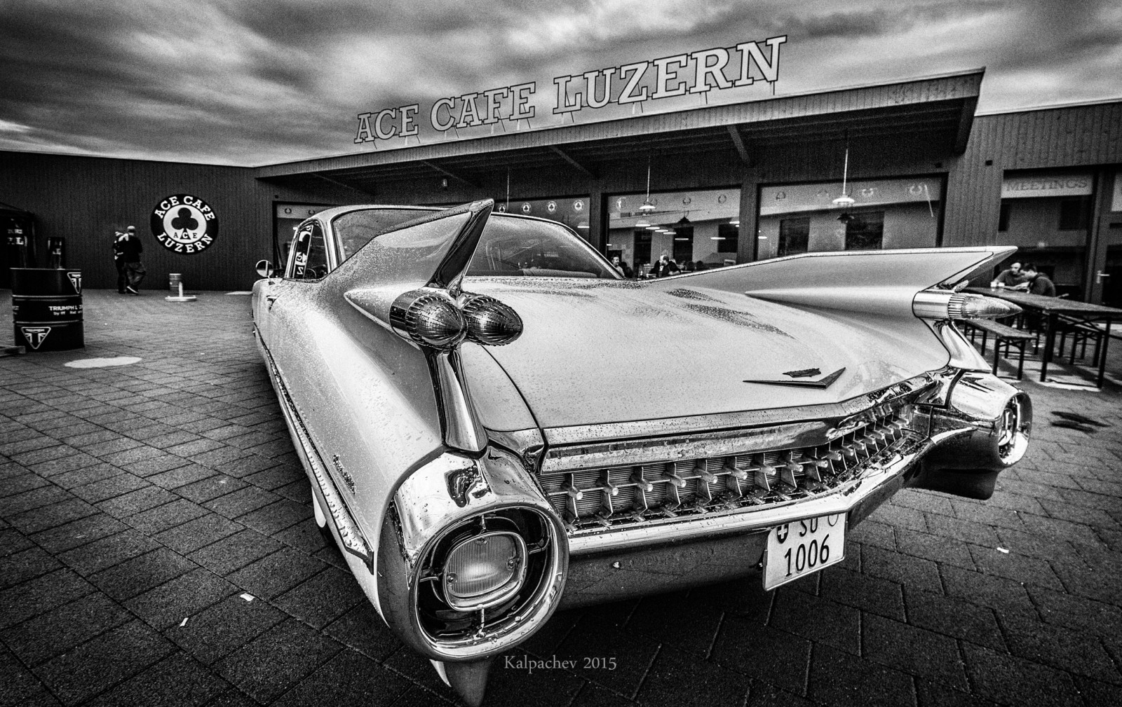 Coupe De Ville at the Ace Cafe Luzern.