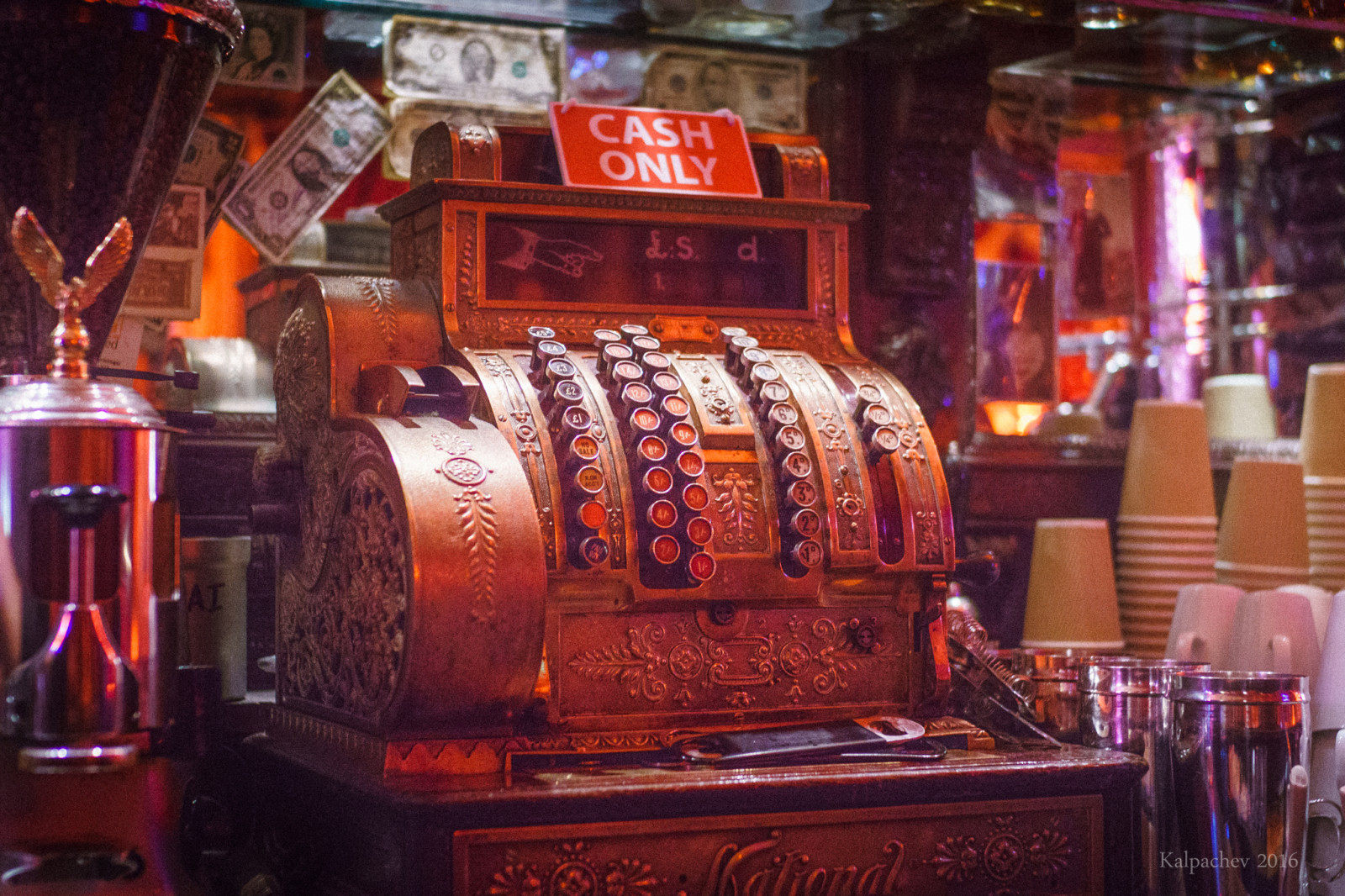 Vintage Cash register London