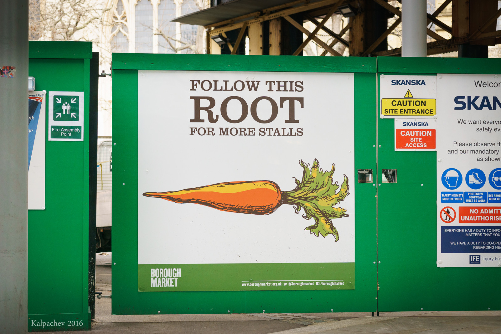 Follow this root March 2016 London, UK