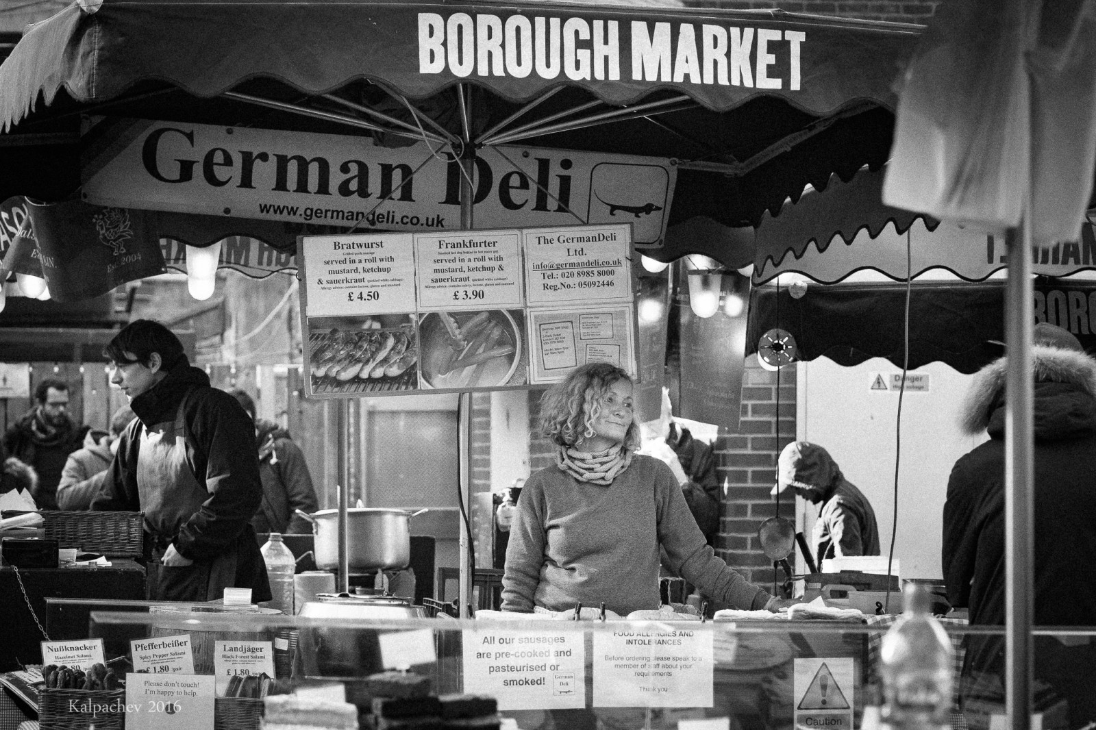 German Deli at Borough market