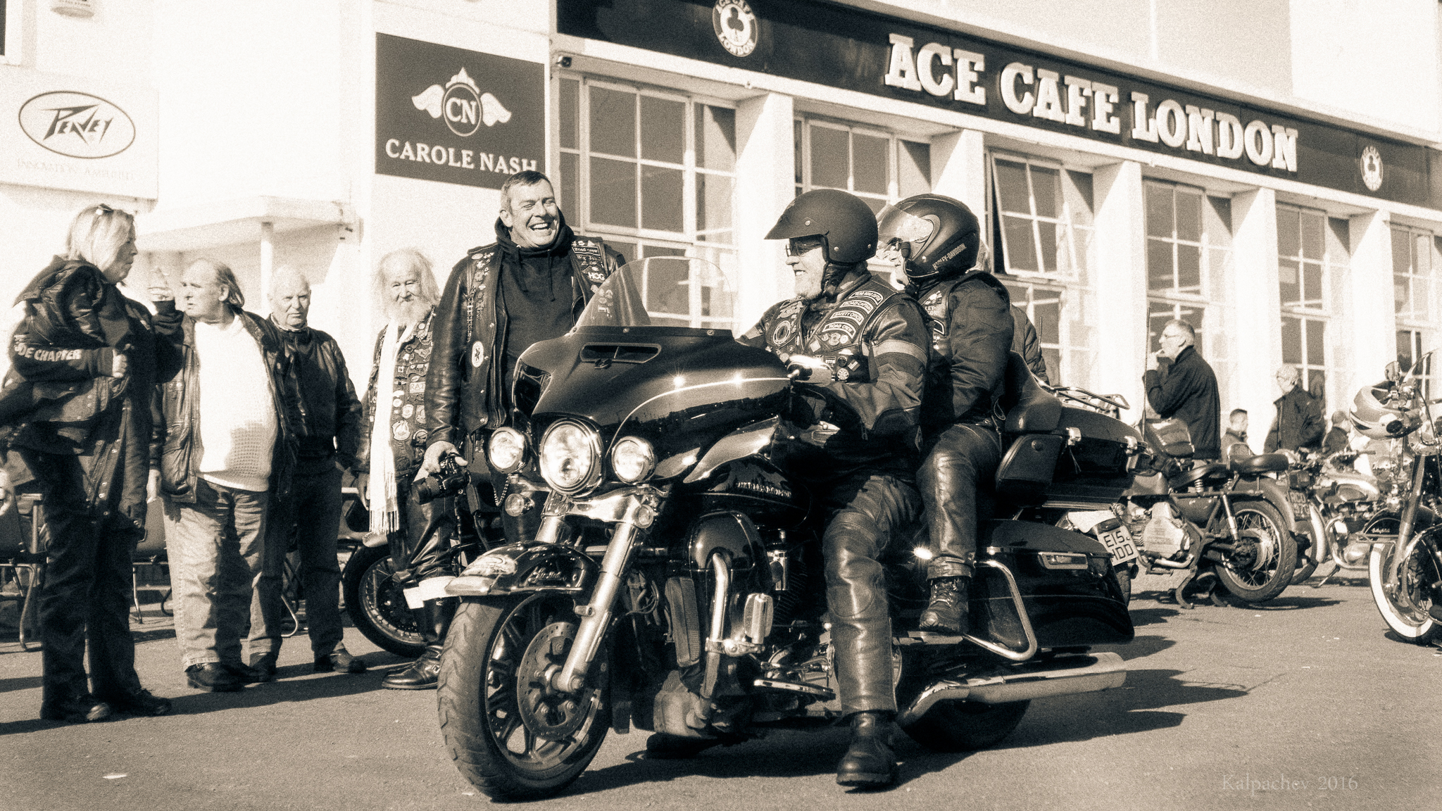 Bike day at Ace Cafe London