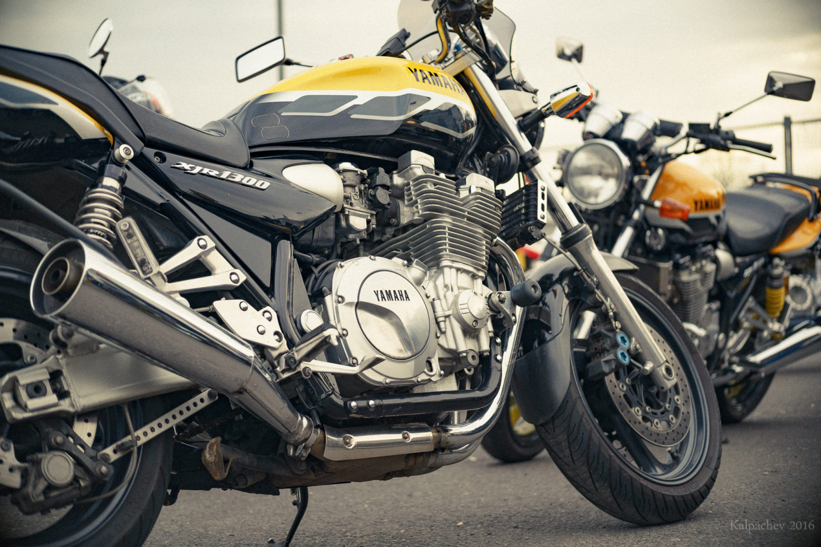 Yamaha xjr 1300 at Ace Cafe London