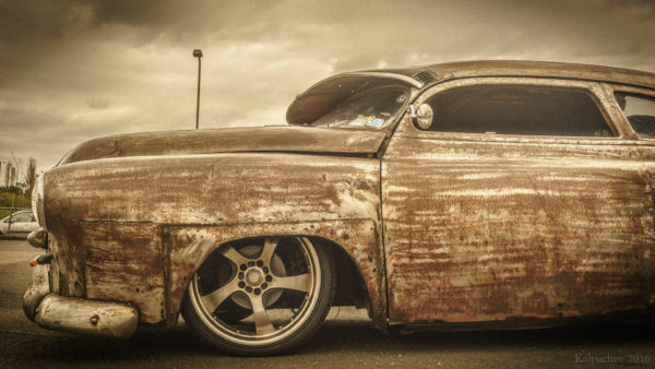 Rat rod at the Ace Cafe London #acecafelondon