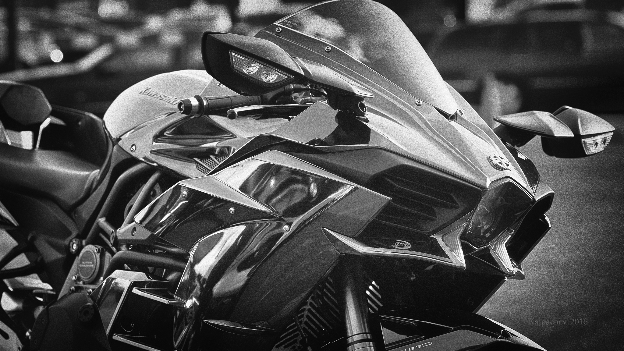 Kawasaki Ninja H2 at Ace Cafe London