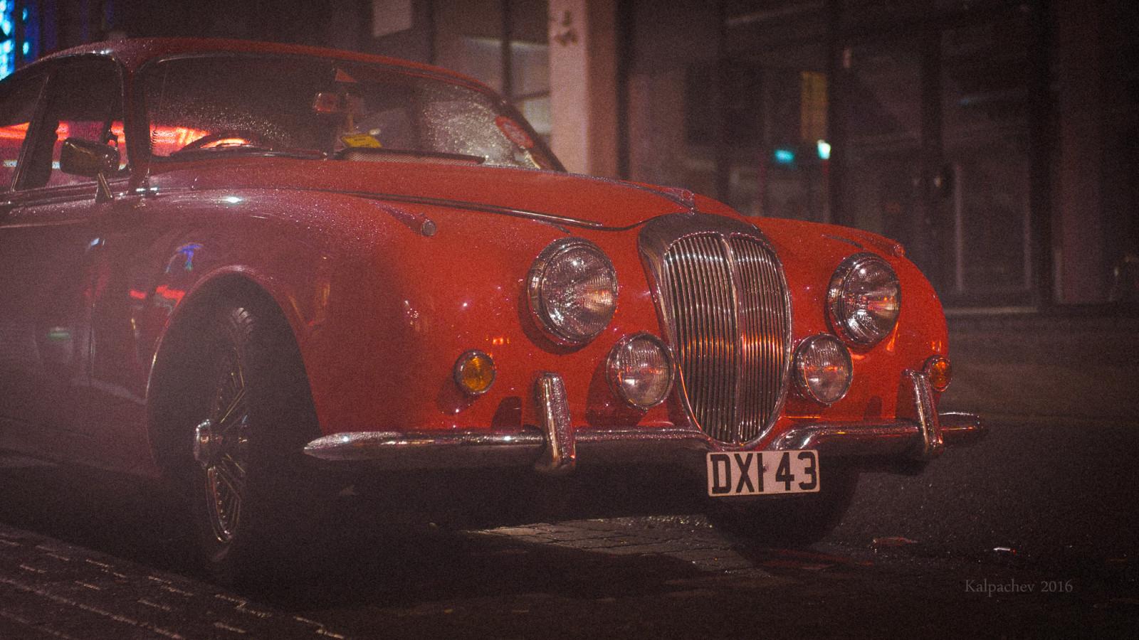Red car London