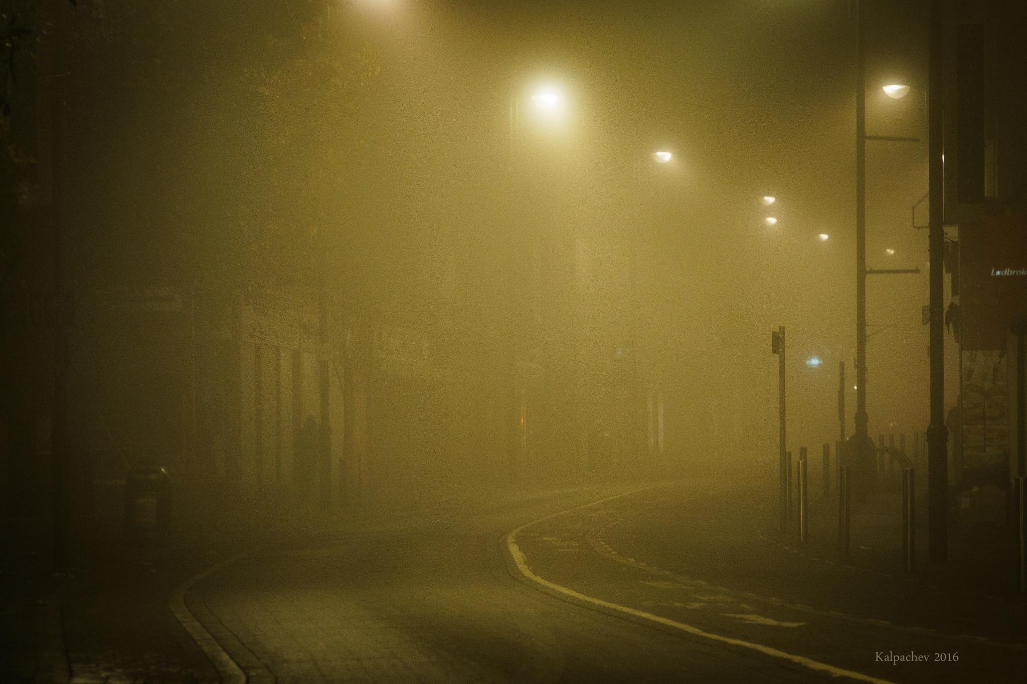 London at its best #london #fog #foggy