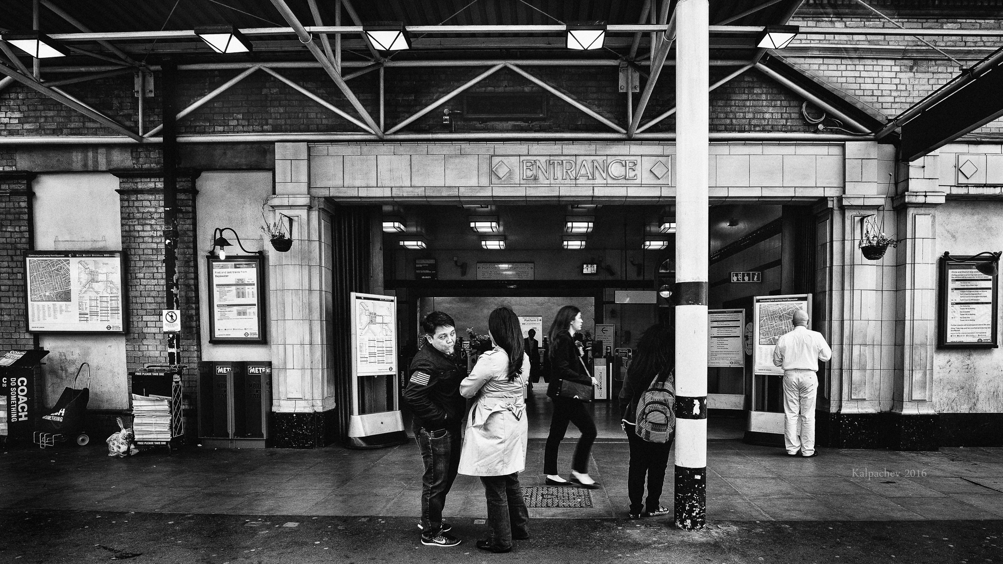 Bayswater tube station #underground #london