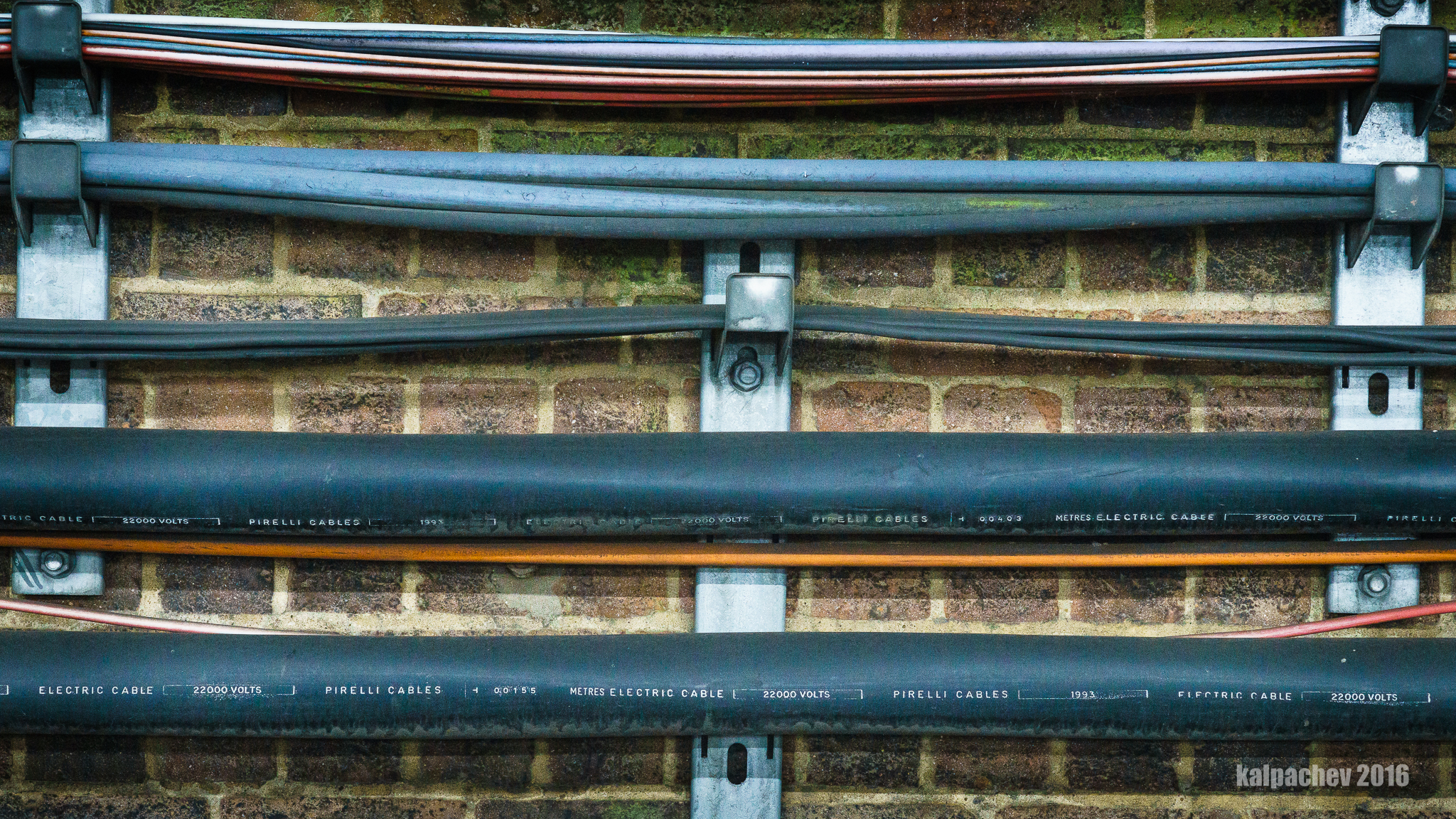 Pirelli cables at London Underground #pirellicables