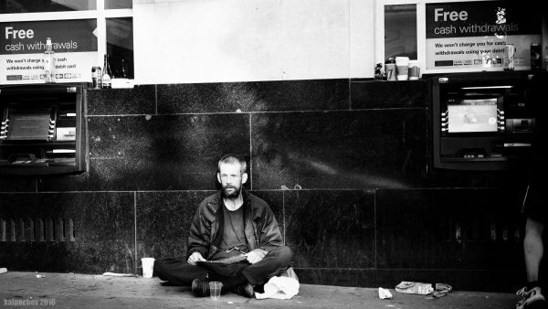 Beggar at Central London #beggar