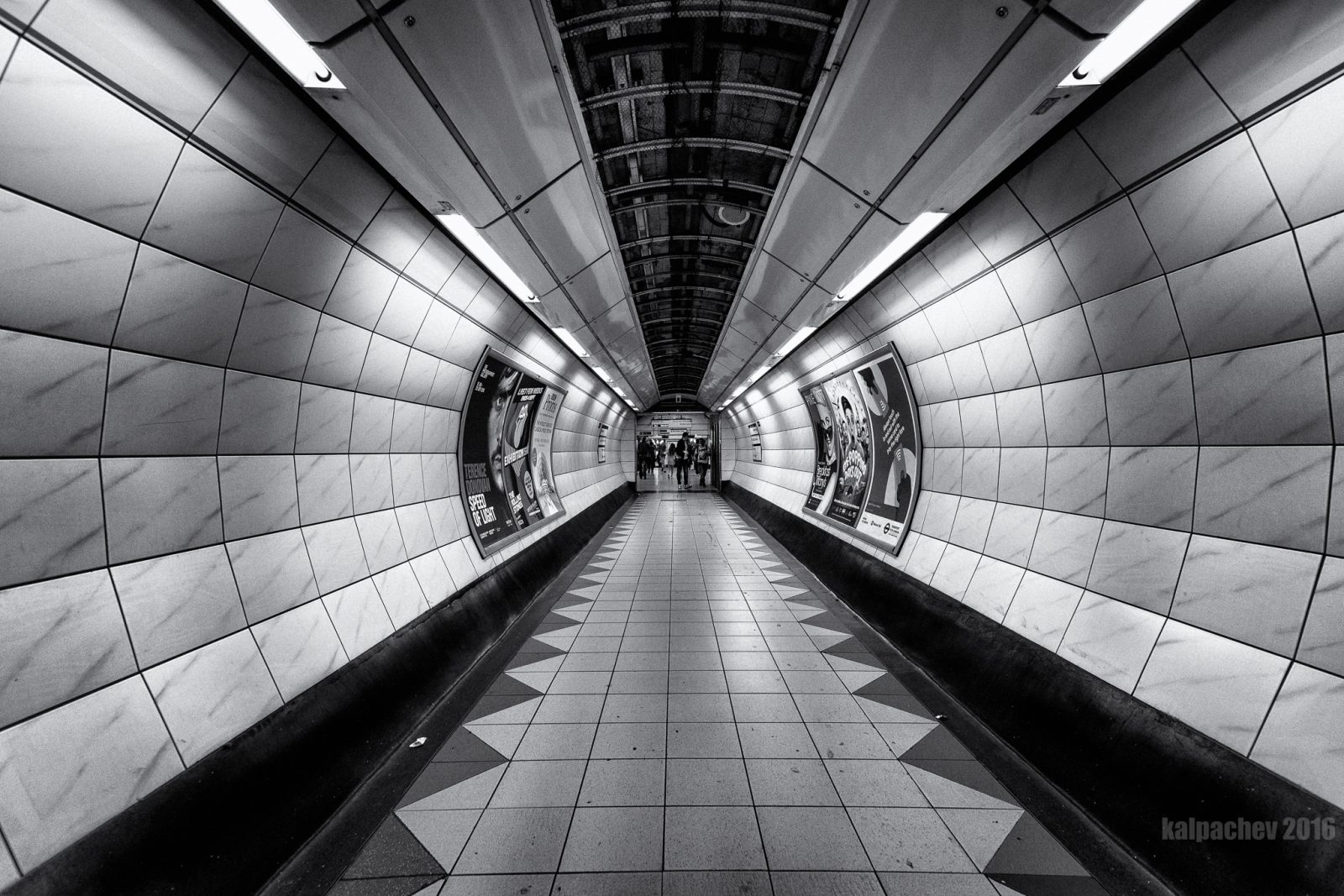 Bank Underground station London