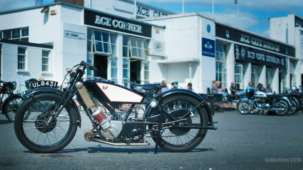 Old motorcycle at Ace Cafe London @SigmaImagingUK #motorcycle