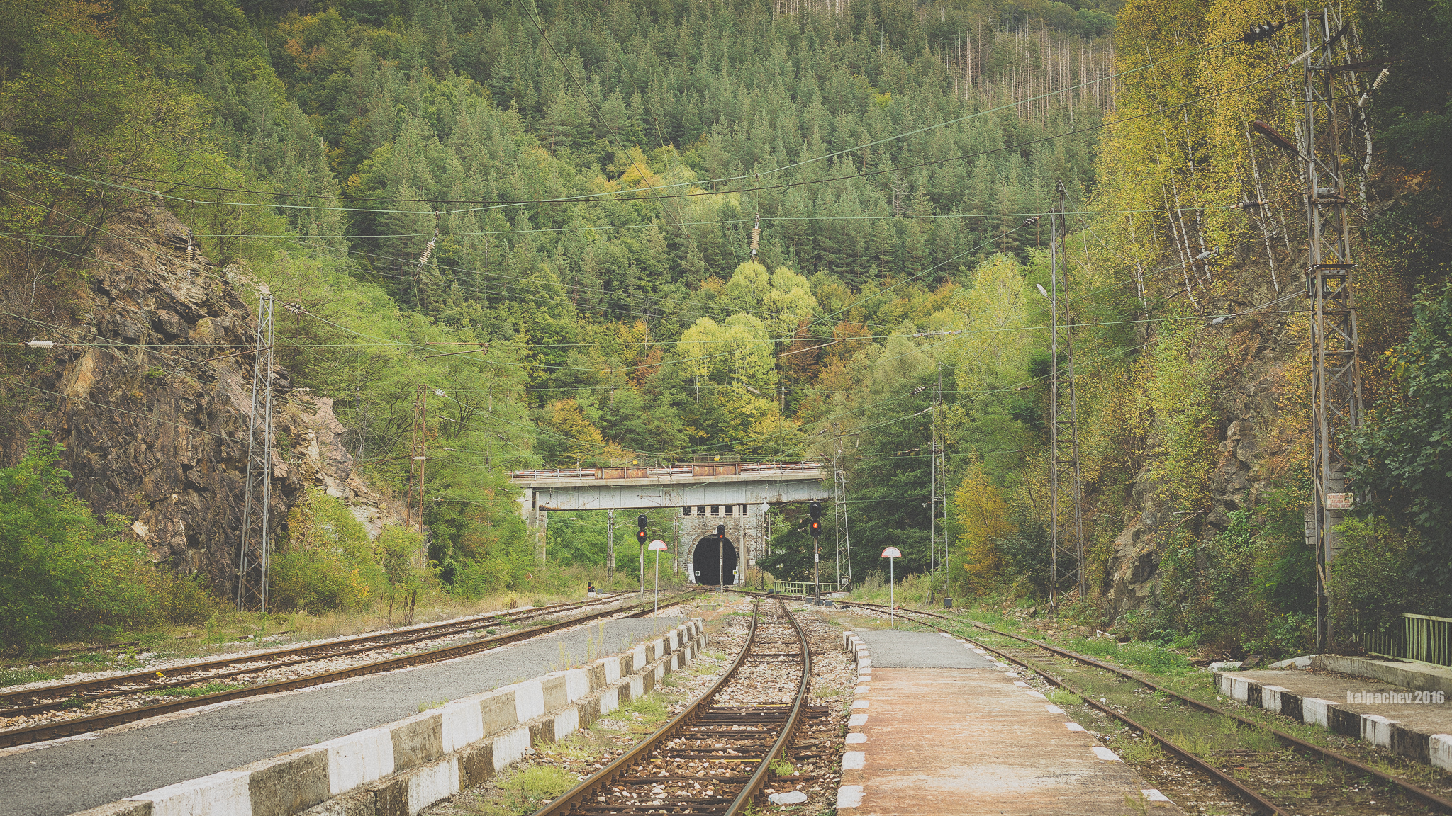 Koznitsa railway tunnel