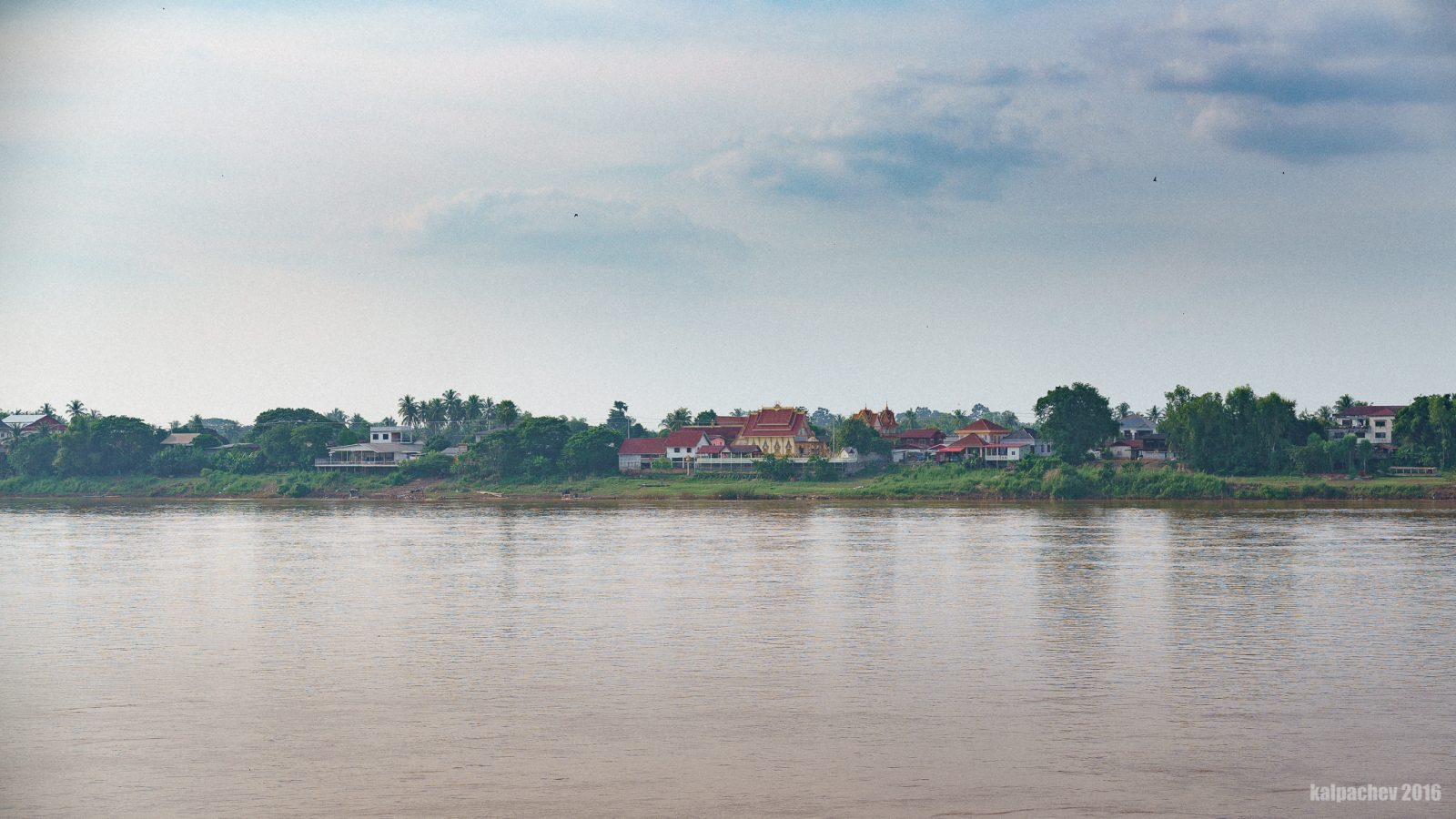 Laos across the river, October 2016