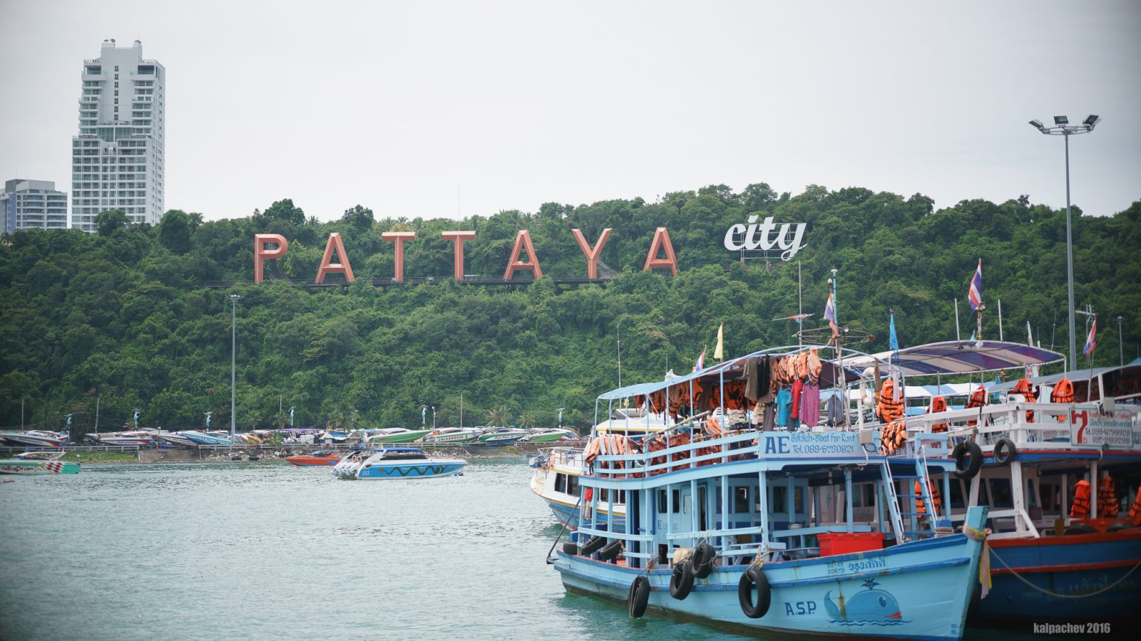 Pattaya, Thailand - October 2016