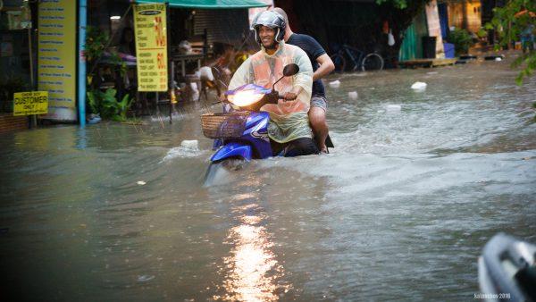 Flood in Pattaya 26 Oct 2016