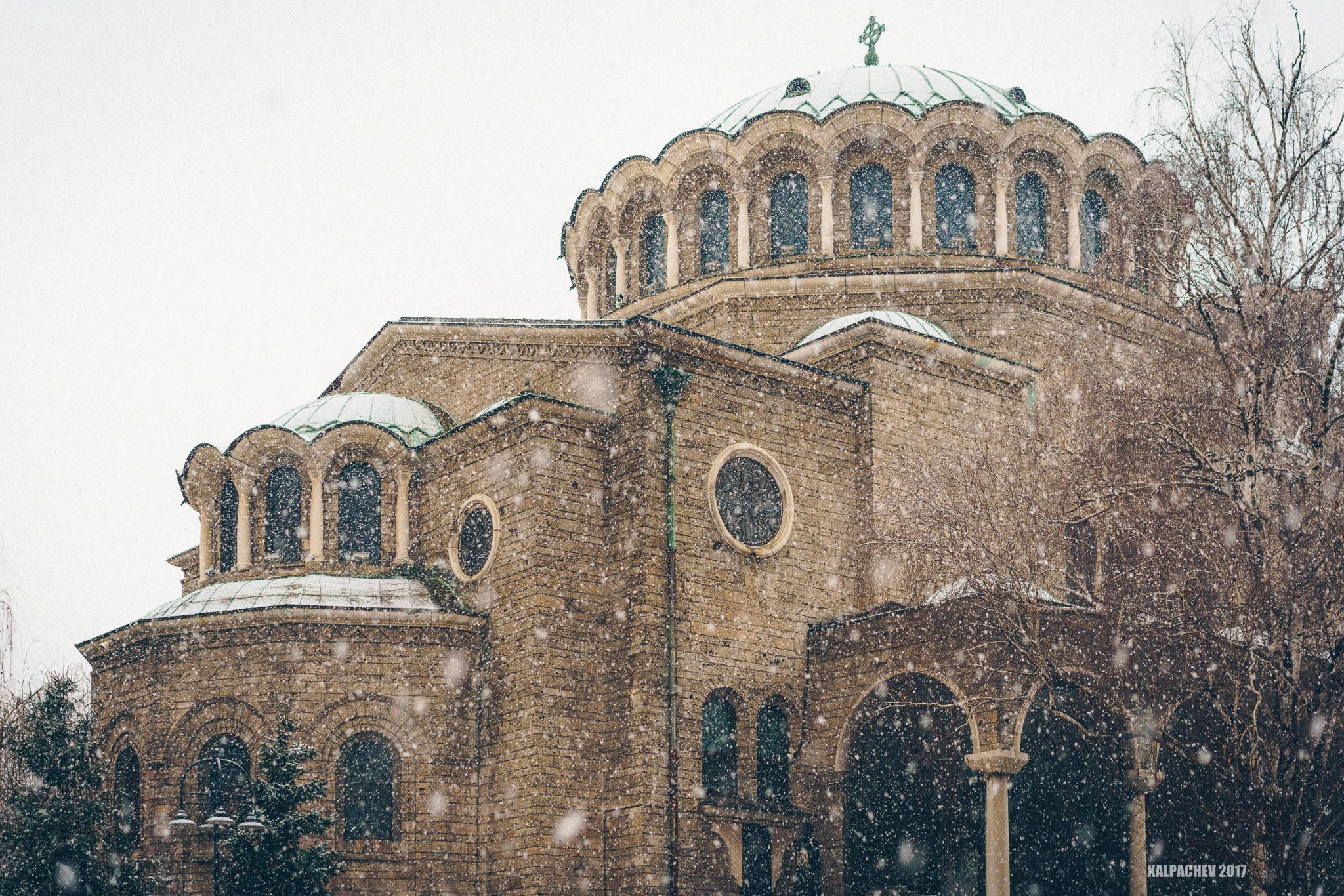 – Sveta Nedelya Cathedral –