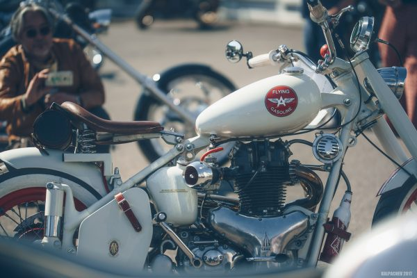 British & Classic Bike Day at Ace Cafe London