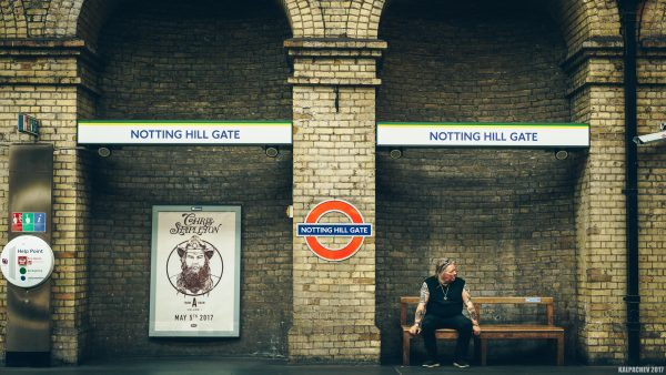 Notting Hill Gate tube station