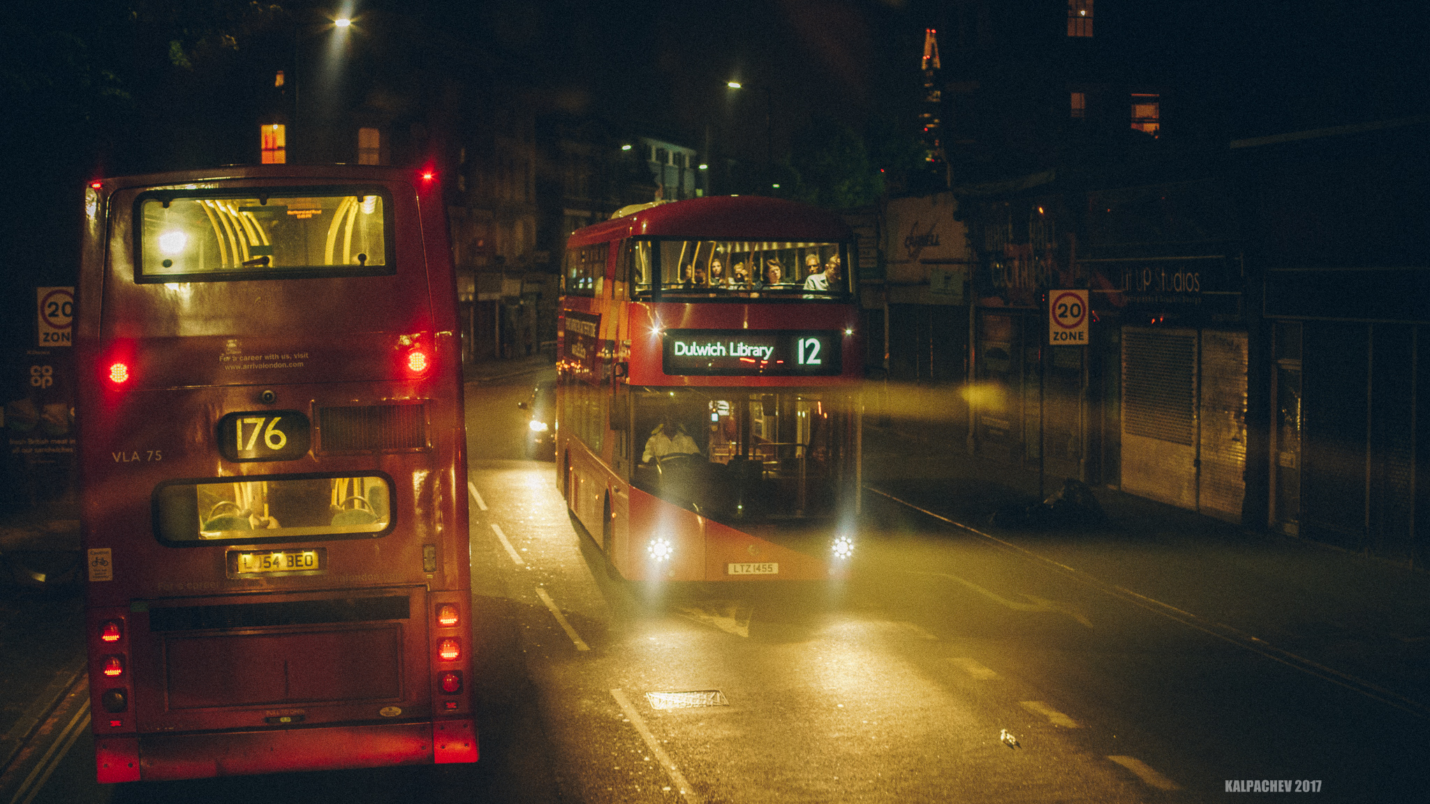 Late night bus