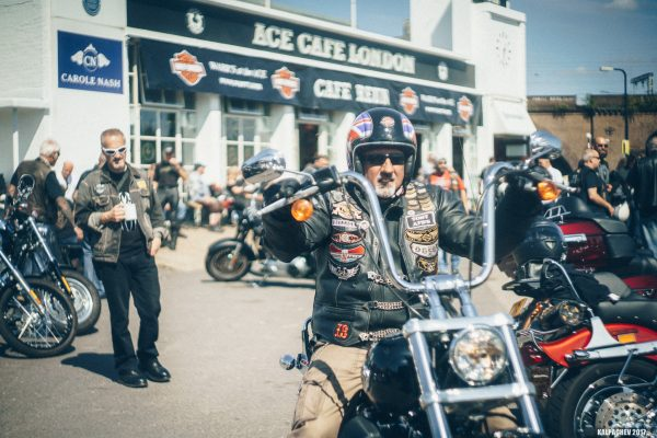 Harley Day at Ace Cafe London