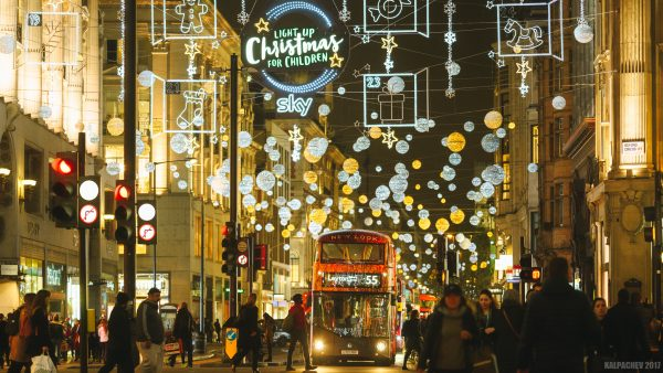 Oxford street ready for Christmas