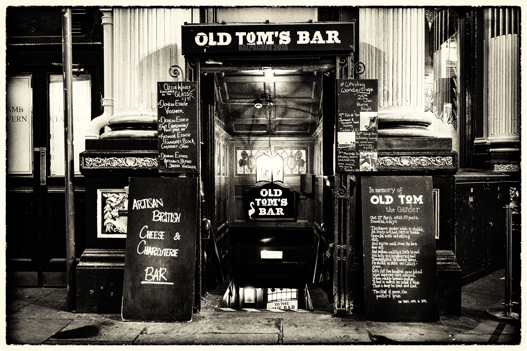 – Old Tom's Bar –