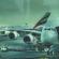 Two Airbus A380 at Dubai airport