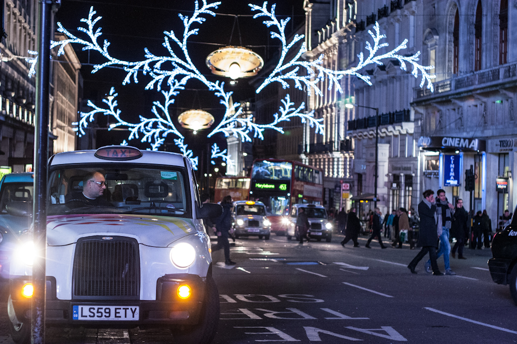Christmas nights in London part 1