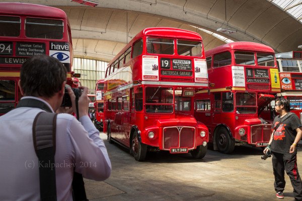 Stockwell Bus Garage Open day 21 June 2014